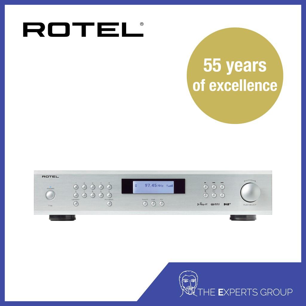 Rotel T14 Silver (Demo Unit)