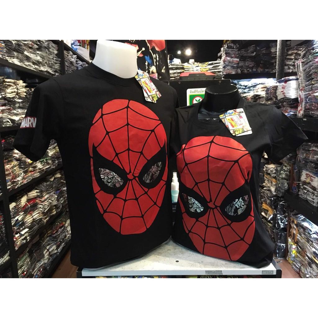 เสื้อยืด ลิขสิทธิ์แท้ สไปเดอร์แมน Spiderman M