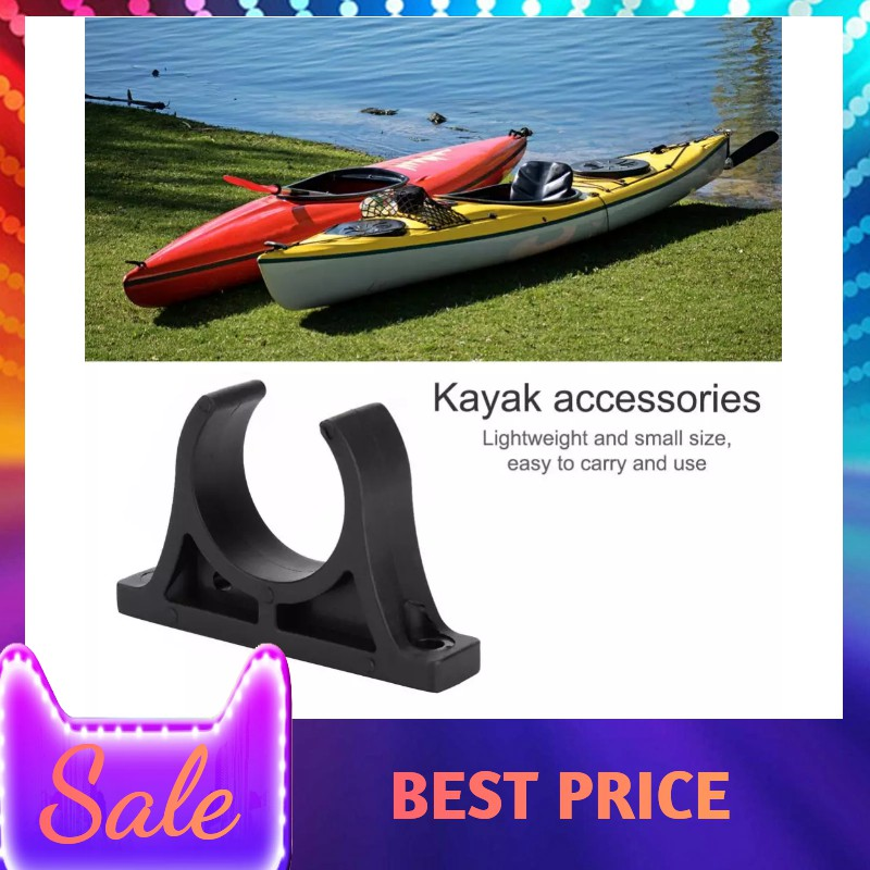 2 Each-Paddle Oar Holder Patch for PVC Inflatable boats Hook /& Loop Strap