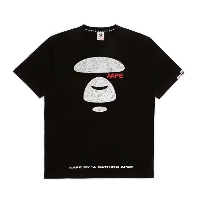 20b0e3bb823a Authentic AAPE 3M Reflective Logo T-shirt