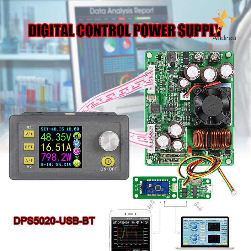 DPS5020 DC50V 20A Adjustable Constant Volt Amp Step-down Power Supply Module