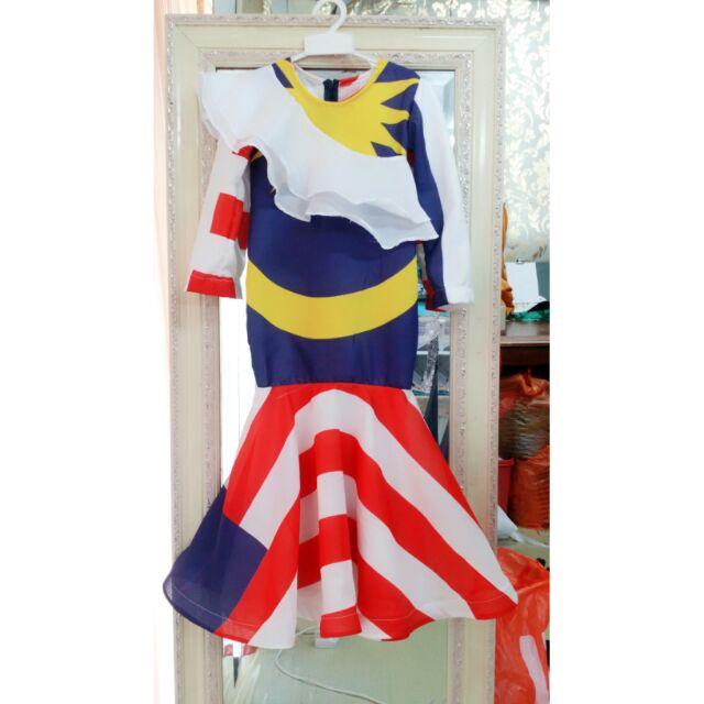 Baju Merdeka Kanak Kanak Shopee Malaysia