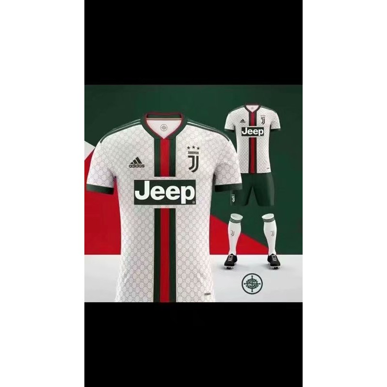 8e90be0816 Juventus And Gucci Jointly Released The Classic Version Jersey Izmirhabergazetesi Com