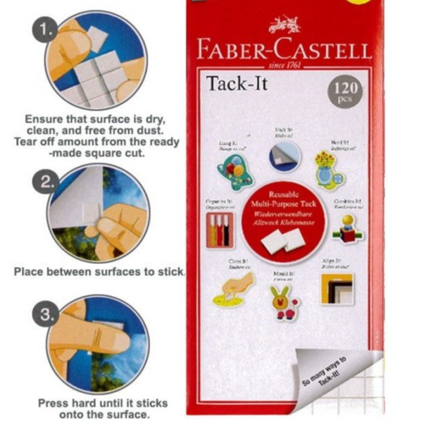 FABER CASTELL TACK IT 120