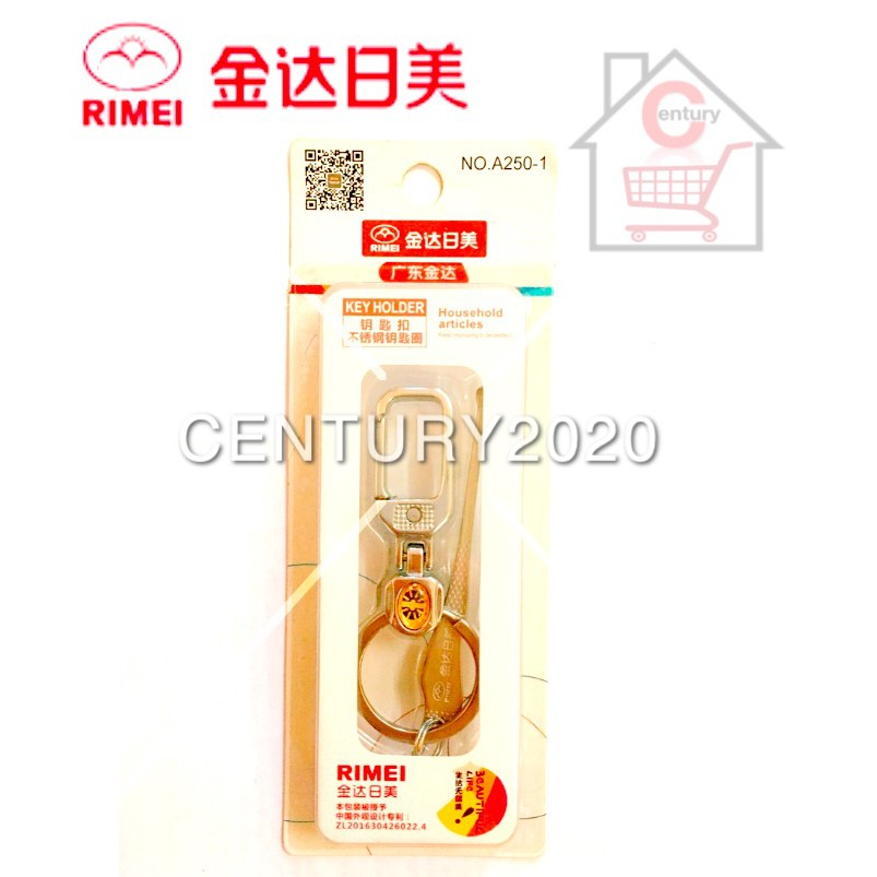 RIMEI Key Chain Key Ring Key Holder Multi-functional Keychain with Earpick A250-1