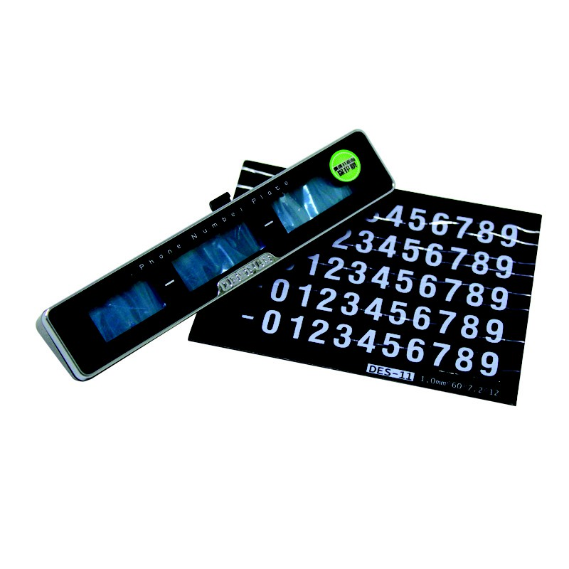 Temporary Car Parking Phone Number Card Plate, Privacy Protection
