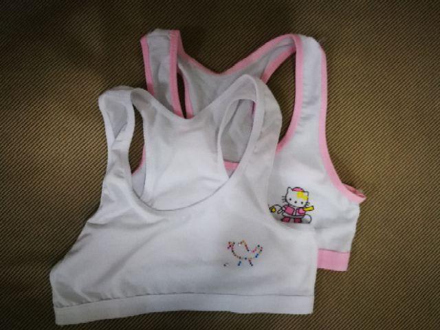 (Set of 2) Primary girl development stage bra