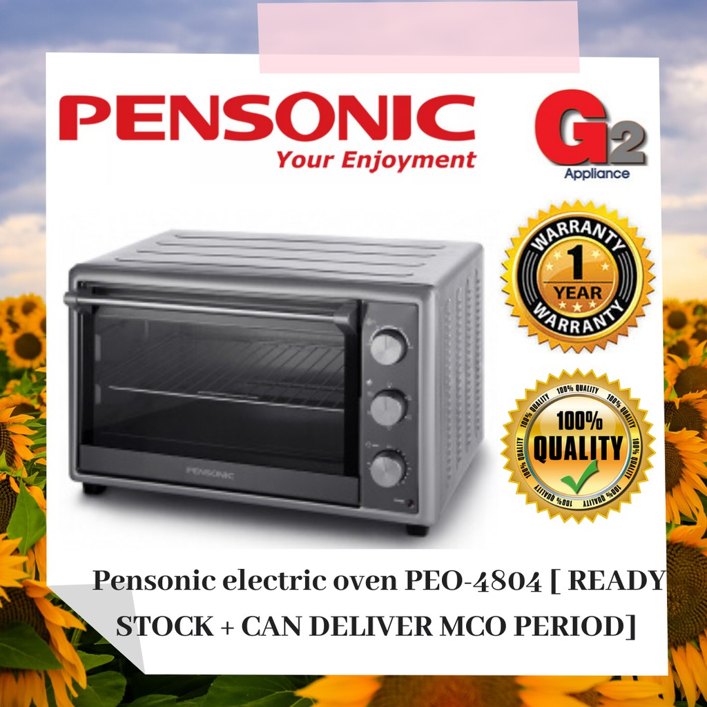 Pensonic electric oven 48Liter PEO-4804 [READY STOCK + CAN DELIVER MCO PERIOD]