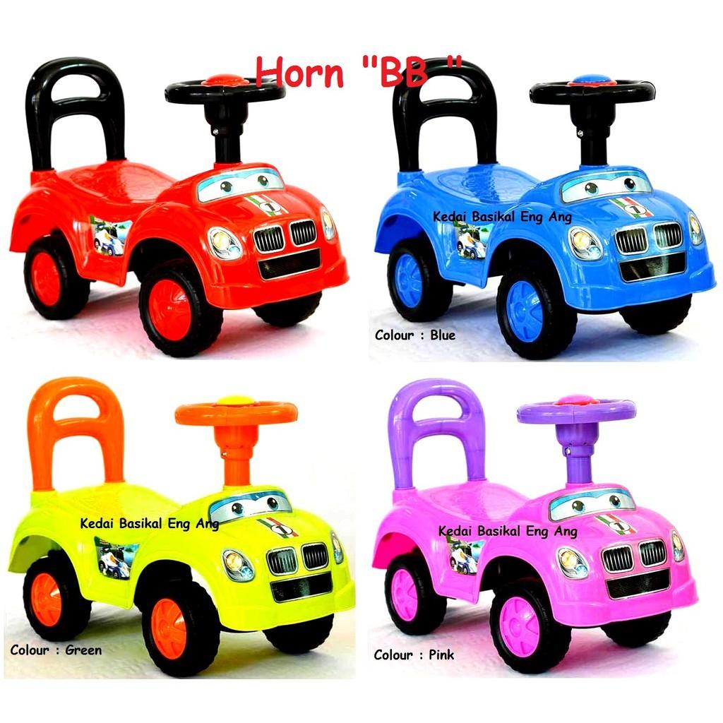 Kid Ride On Car Push Car Kereta Tolak Kanak Kanak Tolarcar Shopee Malaysia
