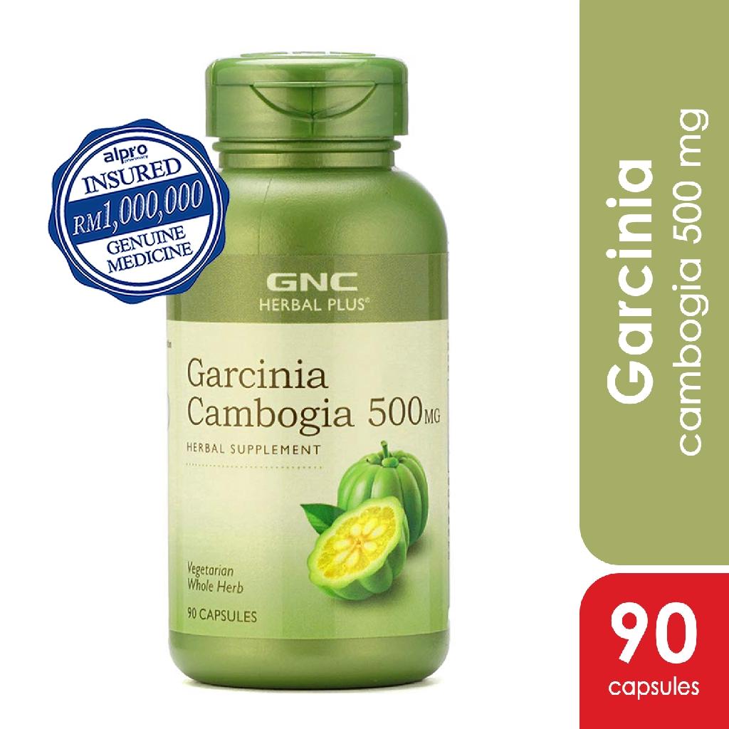 Gnc Garcinia Cambogia 500mg 90 Capsules Shopee Malaysia