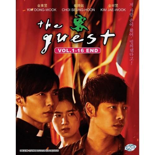Korean Drama DVD The Guest