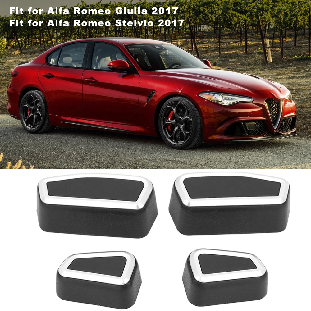 ABS Center Console Air Conditioning Outlet Vent Trim Cover for Alfa Romeo Giulia Stelvio 2017