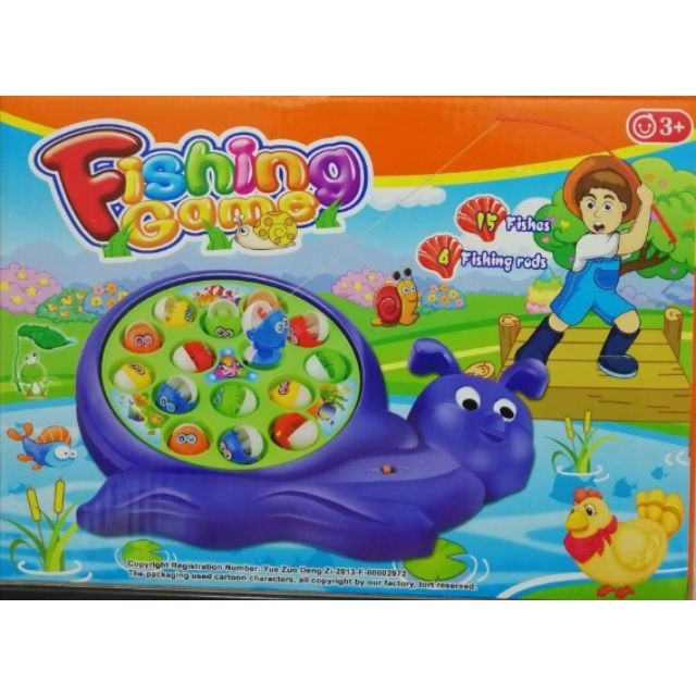 HAPY FISHING DAY KIDS FISH TOYS
