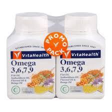 Vita Health Omega 3,6,7,9 Twin pack 2x60's
