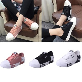 CICITOP Women Outdoor Running Sneakers Canvas Casual Shoes