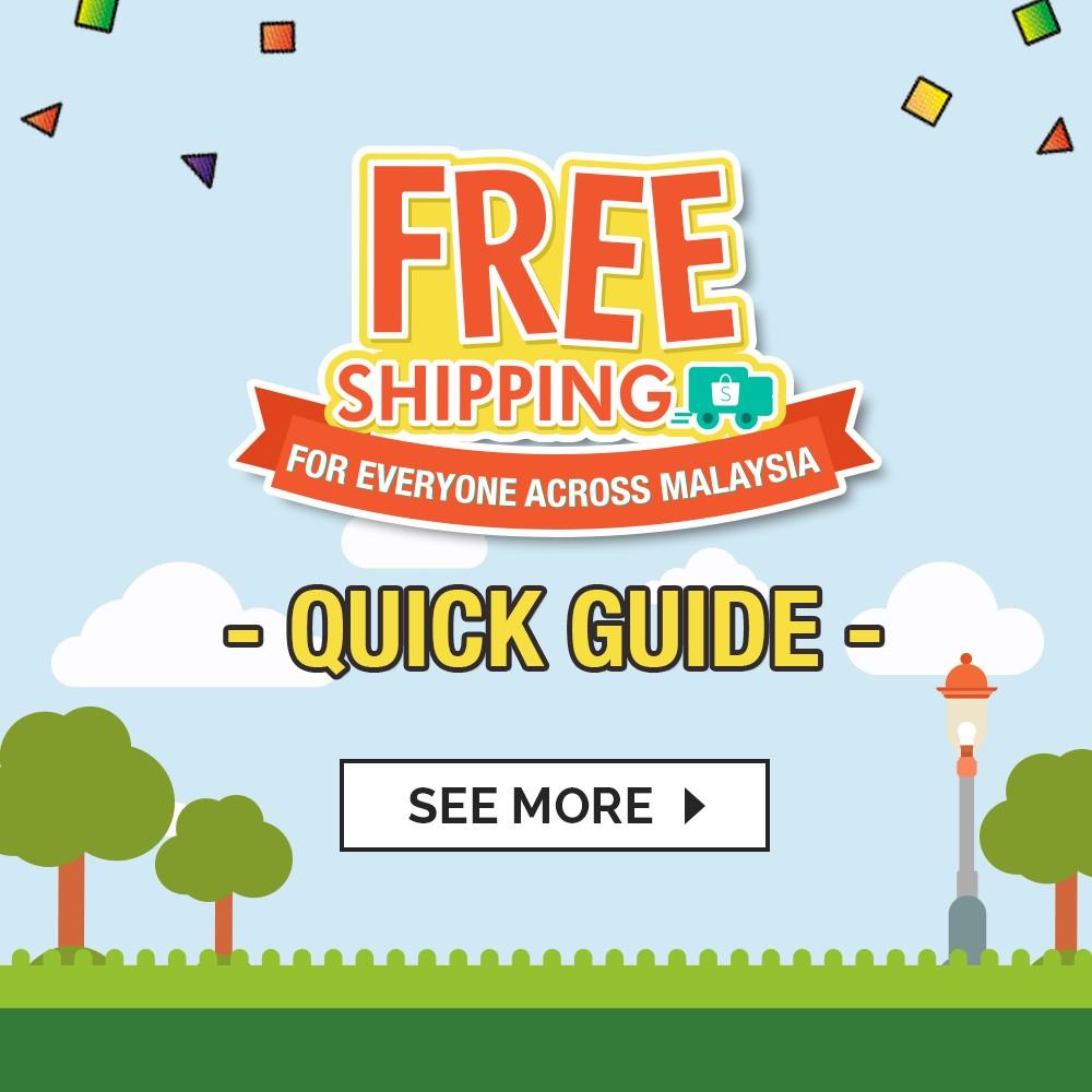 Shopee Free Shipping Quick Guide Shopee Malaysia