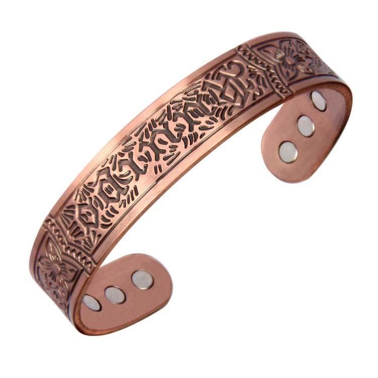 2345 Magnetic Pure Copper Bracelets Men