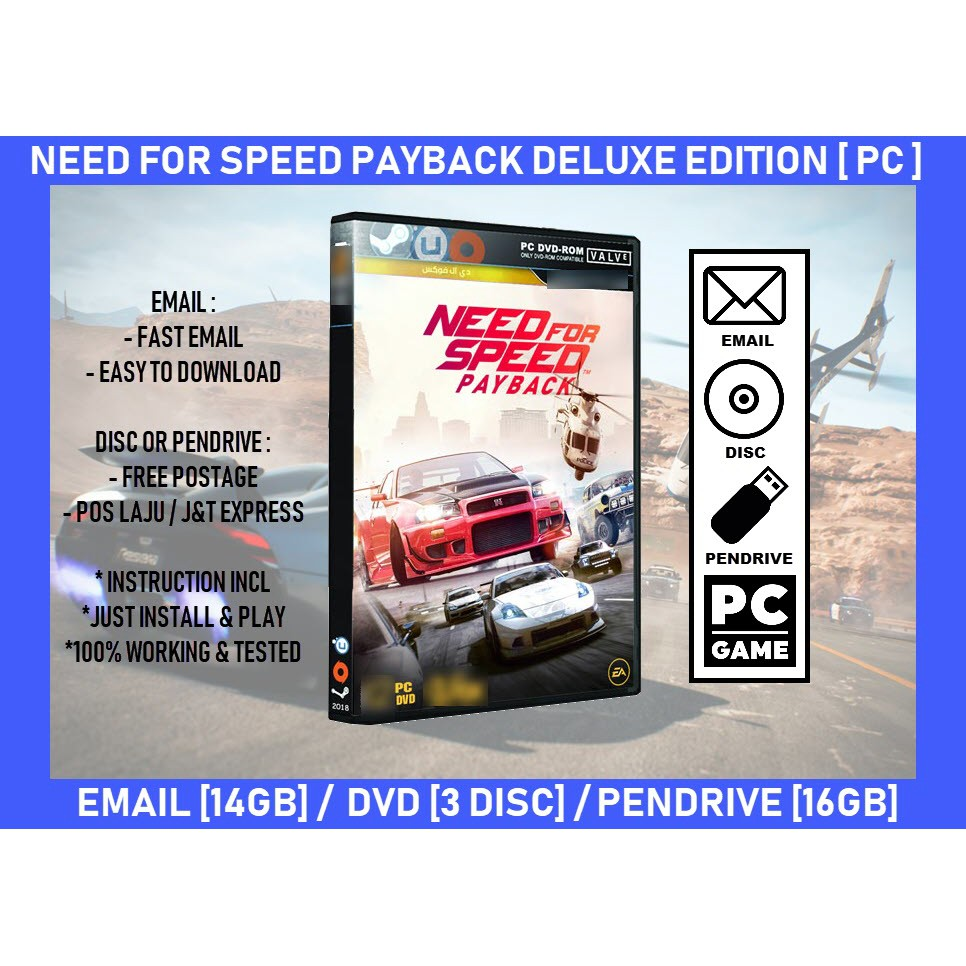 [NFS] Need For Speed Payback [PC]