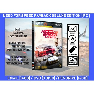 [NEW] XBOX ONE Need For Speed / NFS Payback [ENG]