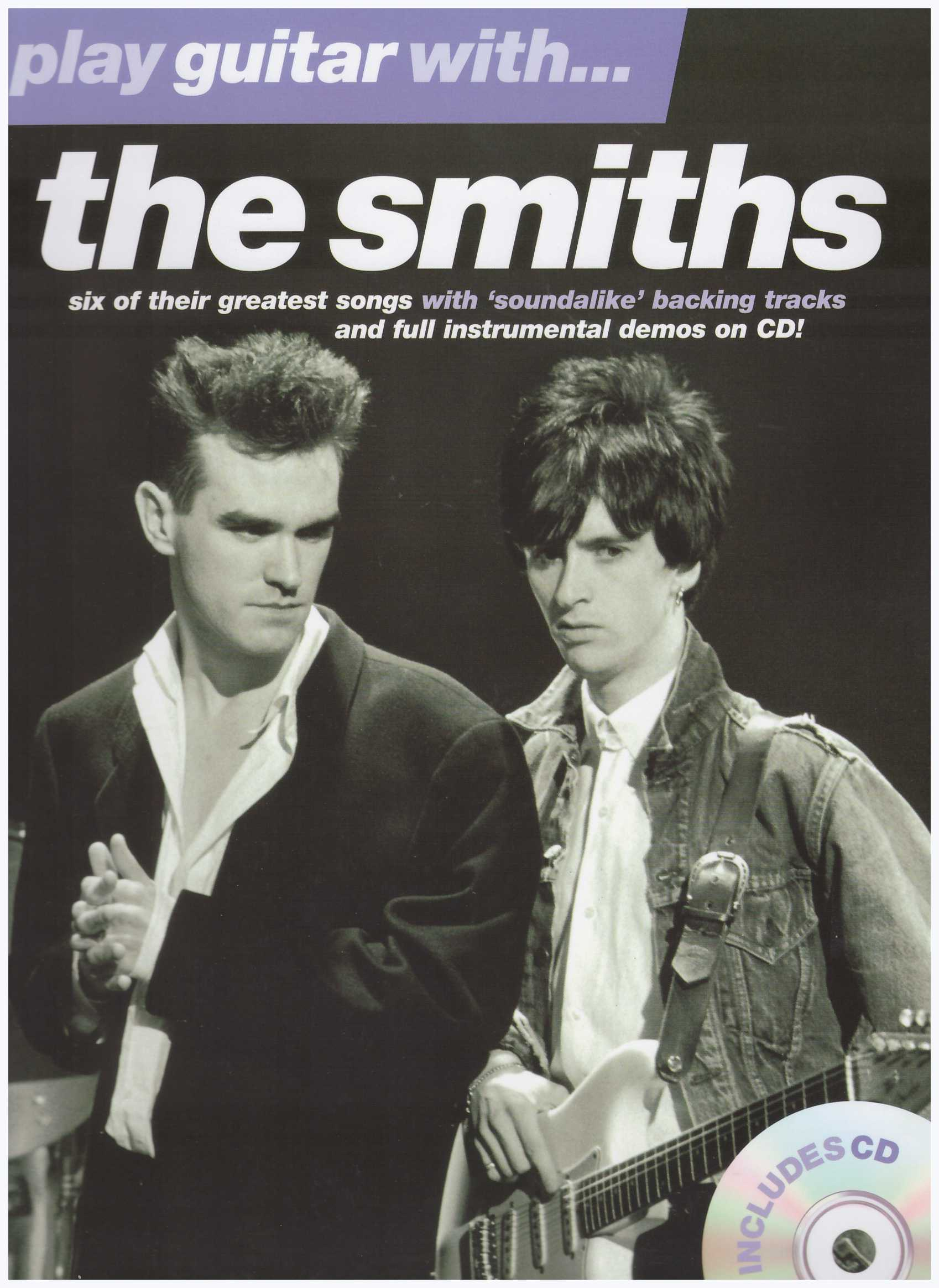 Play Guitar With...The Smiths / Vocal Book / Voice Book / Guitar Book / Tab Book / Guitar Tab Book