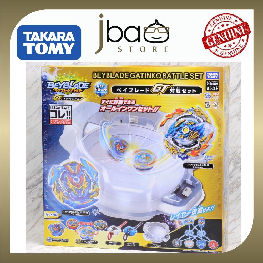 Takara Tomy Byblade Burst B-136 Beyblade GT Battle Set ORIGINAL Gatinko Battle Set