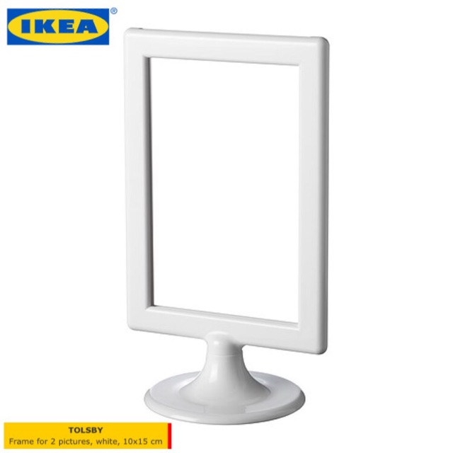 IKEA TOLSBY FRAME FOR 2 PICTURE IN HIGH GLOSS PLASTIC | Shopee Malaysia