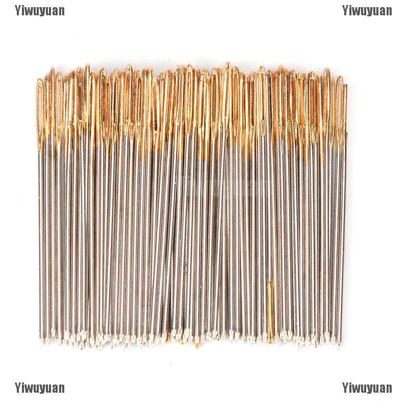 10pcs Golden Tail Embroidery Fabric Cross Stitch Needles Size 26 For 14CT Stitch