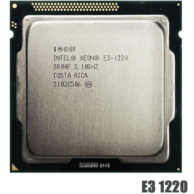 Intel Xeon E3-1220 E3 1220 3.1 GHz Quad-Core CPU Processor 8M 80W LGA 1155