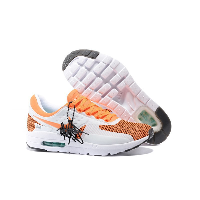 Nike Air Max Zero 87 Orange Yellow And White Color Men And Women Size 36 44171