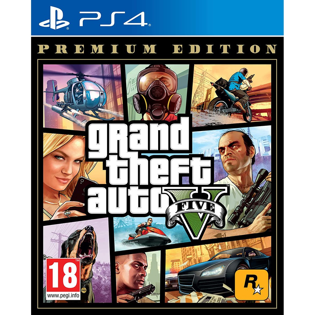 PS4 Grand Theft Auto V: Premium Edition (R2/ENG)