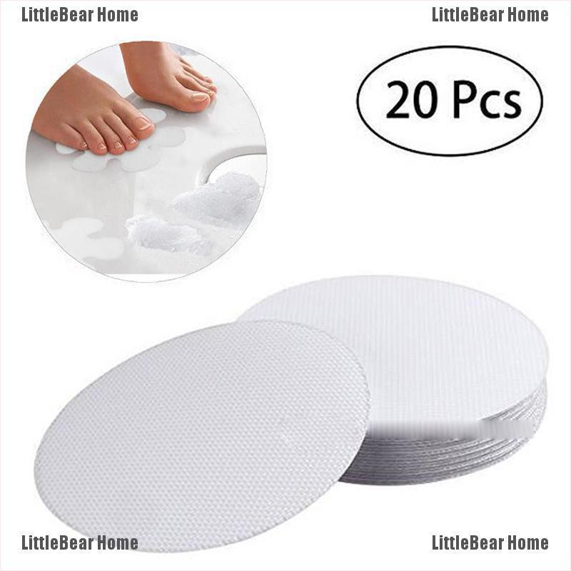 20 Pcs Anti Slip Flower Non-Slip Decal Safety Bath Tub Shower Grip Stickers 10cm