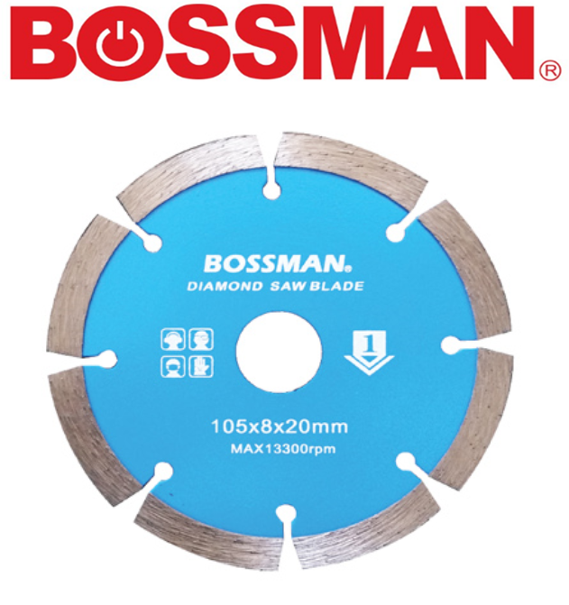 BOSSMAN BF1GP  CONTINUOUS CUTTING WHEEL DIAMOND GRINDING DISC ACCESSORIES EASY USE  GOOD QUALITY