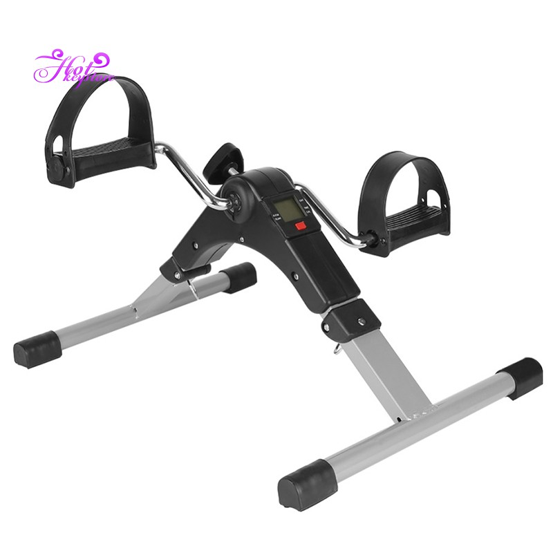 Portable Folding Arm And Leg Pedal Exerciser With Digital Lcd