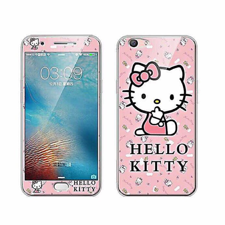 [READYSTOCK] OPPO A37 360 FULLCOVER THEME CASE HELLO KITTY