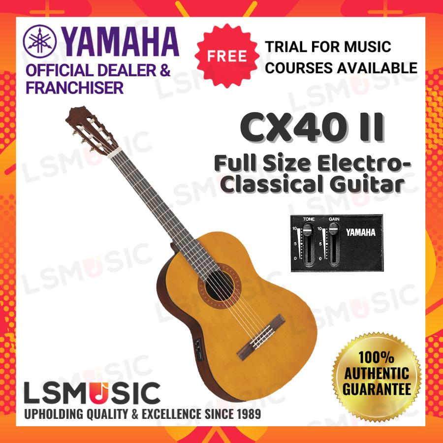 Yamaha CX40 II Full Size Electro-Classical Guitar with Pickup (CX40II)