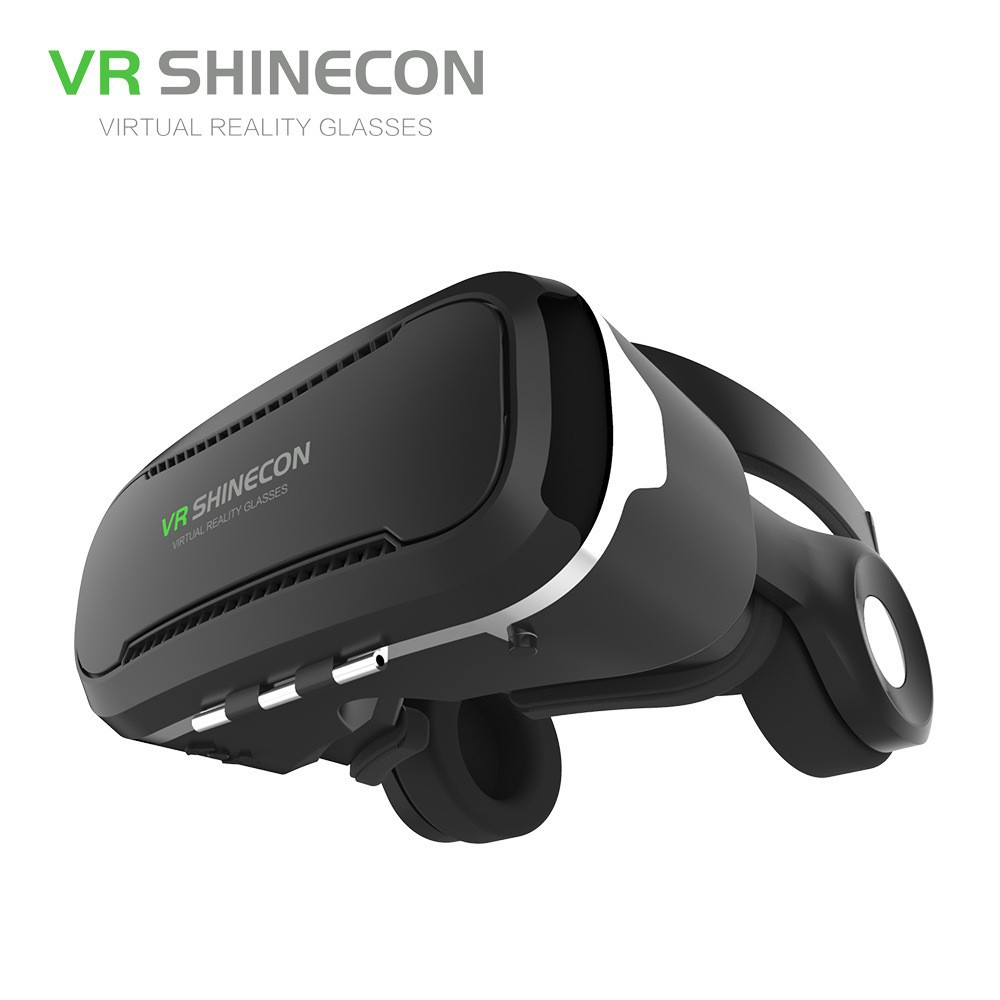 704de1d4c55 VR AR Goggles - Virtual and Augmented Reality Headset for iPhone and  Android