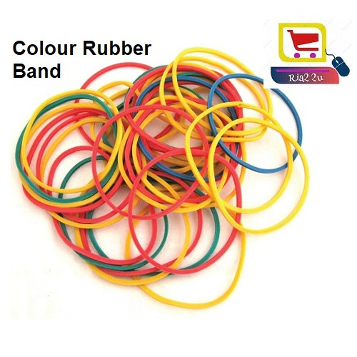 High Quality Multi Colour Rubber Band 200gram Gelang Getah Elastik
