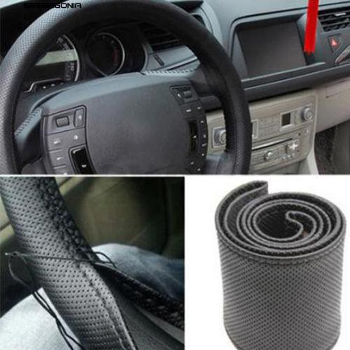 seebegonia DIY Car Wheel Cover Protector with Needle Thread Kit