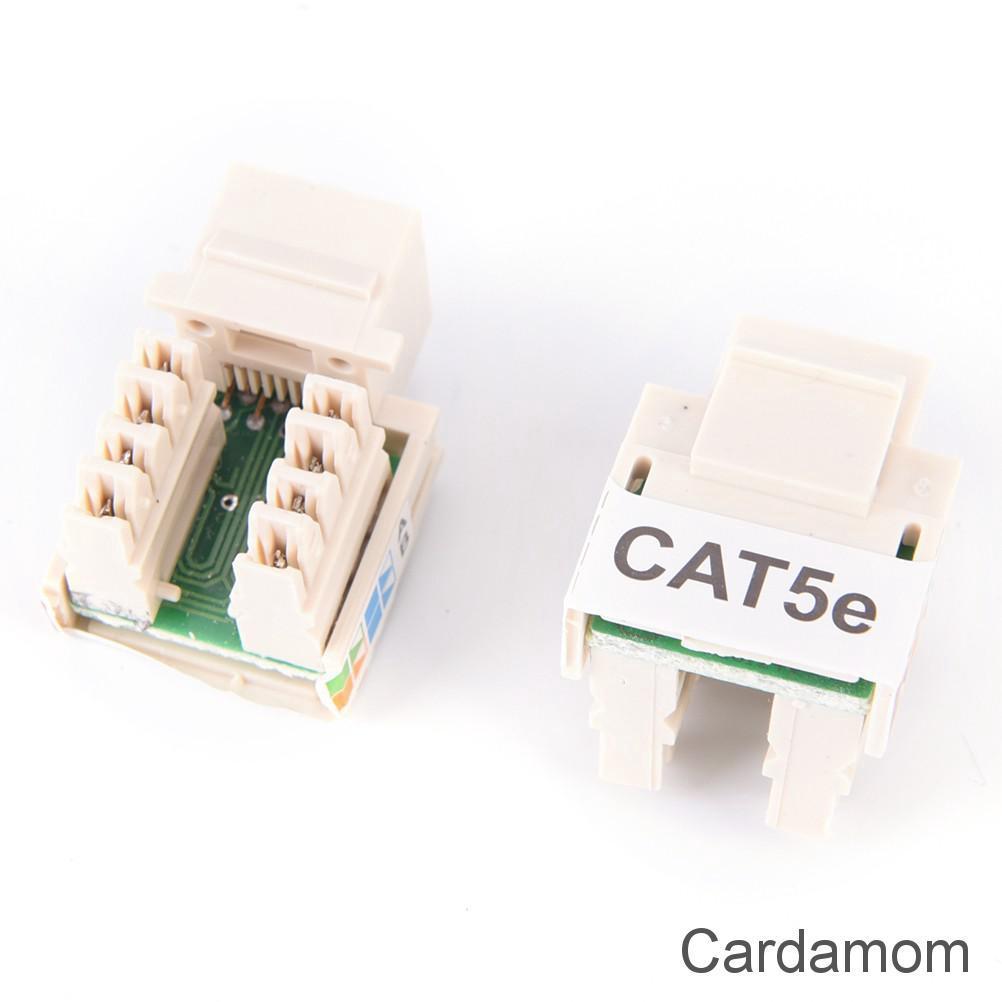 10Pcs Unshielded RJ11 RJ45 8P8C Network Modular PCB Connector Jacks PVCA