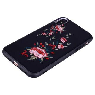 For Huawei Nova 2s 3i Cases Vintage Floral Flower tassel case Soft