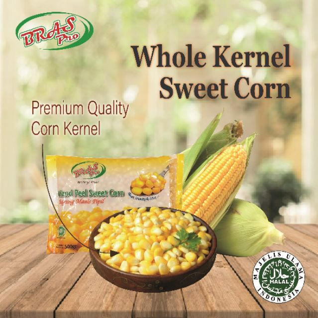 Braspro Frozen Hand Peel Sweet Corn Kernel 500g 2kg Jagung Manis Deliver To Selangor Kl Only Please Refer Below Shopee Malaysia