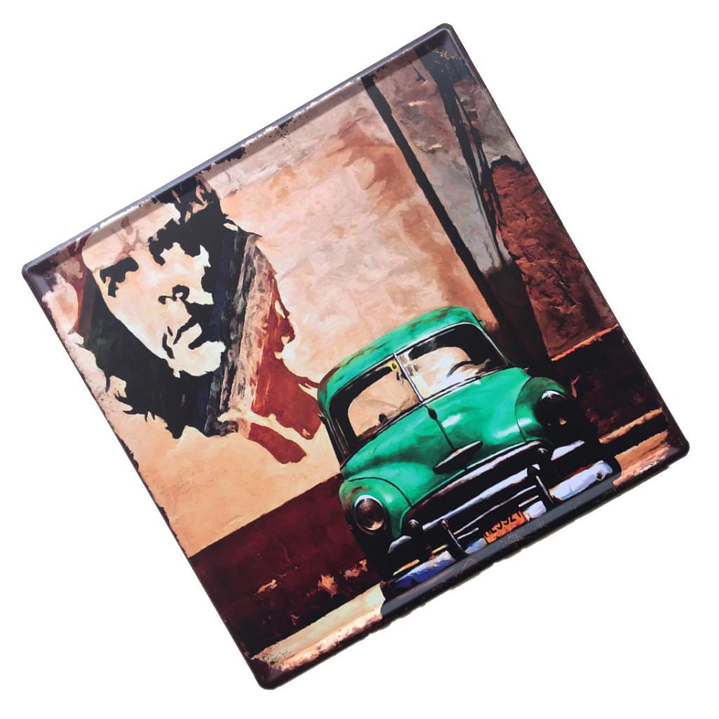 Moto 35 Vintage Affiche de D/écoration en M/étal pour Bar Art Caf/é Pub