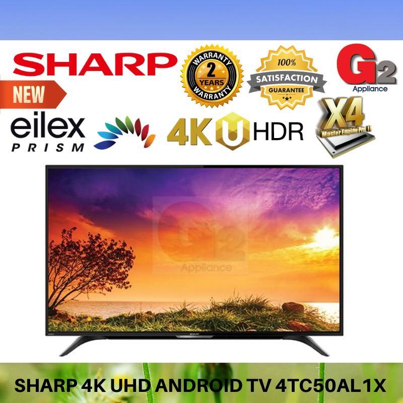 Sharp NEW 50 INCH 4K UHD ANDROID TV 4TC50AL1X