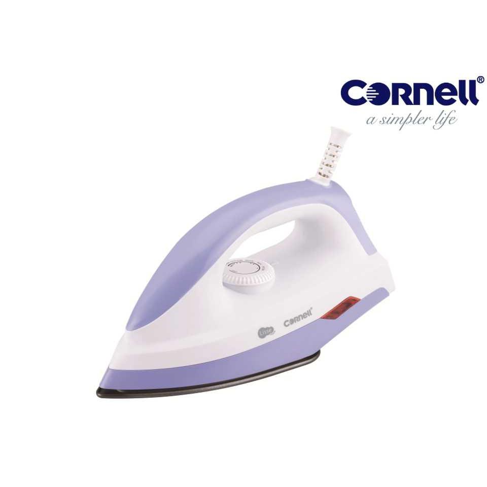 Cornell Dry Iron - Pilot Light Indicator & Non-Stick Coating Soleplate CI-SP2H
