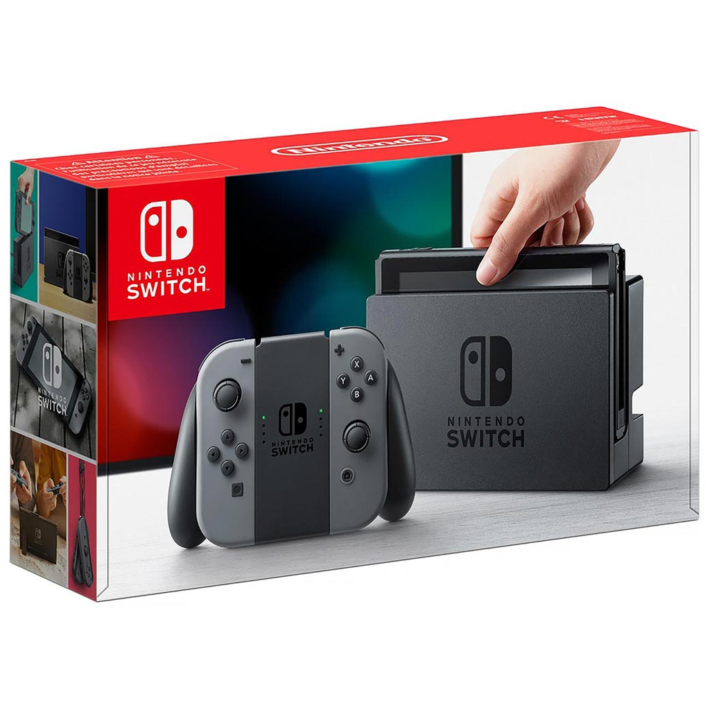 NINTENDO SWITCH CONSOLE (GREY/BLACK) 1 YEAR WARRANTY [PROMOTION PRICE]