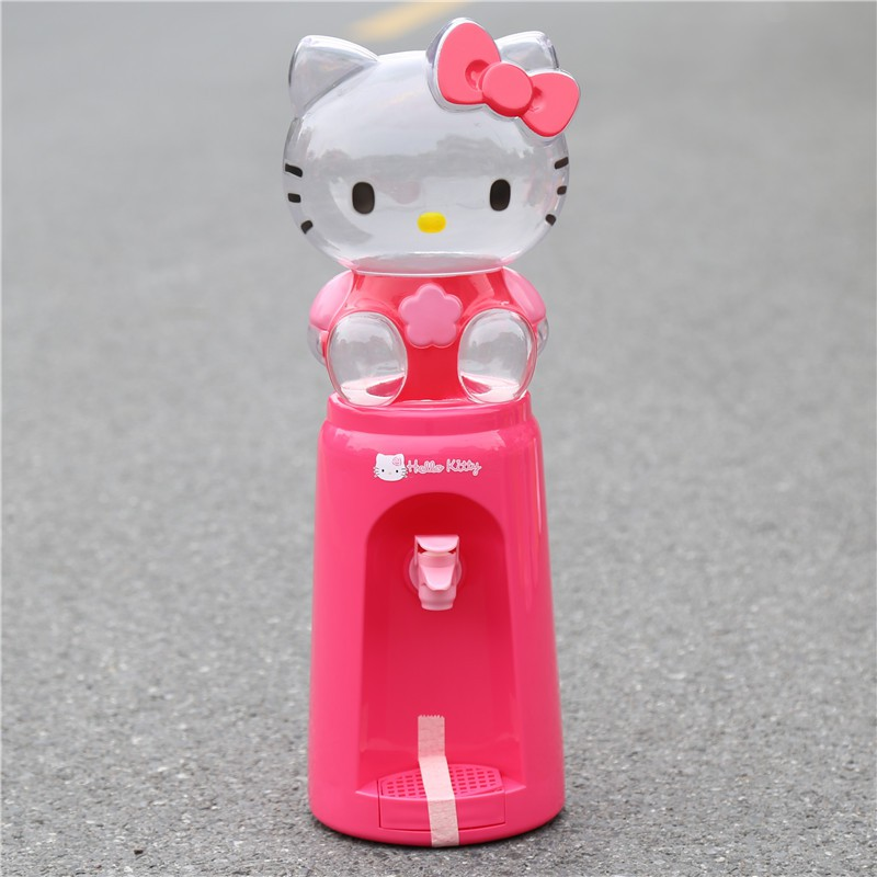 [ READY STOCK ]  Cute Cartoon 2 Liter 8 Glass Kid Water Dispenser Drinking Bottle Budak Jualan Murah Kitchen BabySimpanan