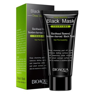 BIOAQUA Peel Off Black Face Mask Skin Care Bamboo Charcoal