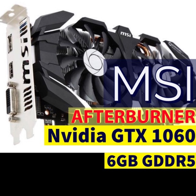 MSI GAMING GeForce GTX 1060 6GB GDRR5