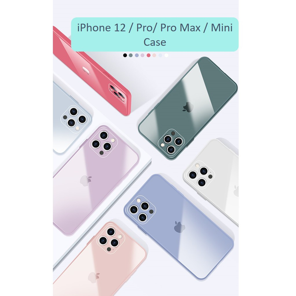 Phone Case for iPhone 12 / iPhone 12 Pro/ iPhone 12 ProMax / iPhone 12 Mini | 防摔手机保护壳
