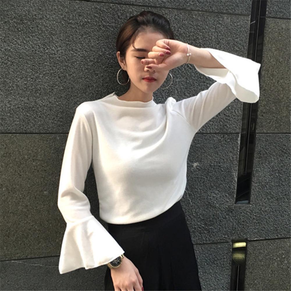 e1376a02cc282 Women Simple bell blouse